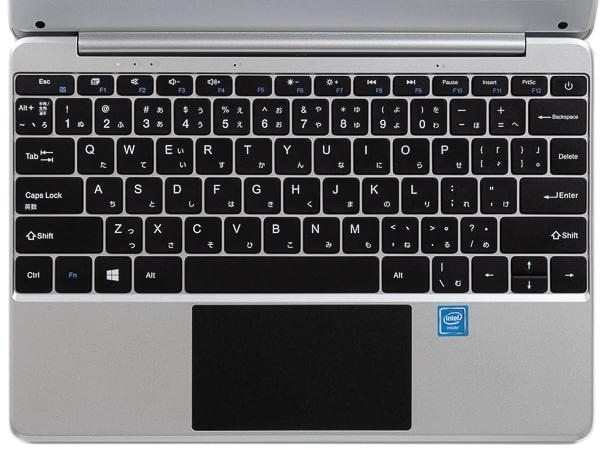 TENKU ComfortBook S11 キーボード