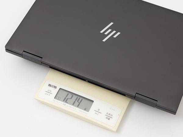 HP ENVY x360 13 重さ