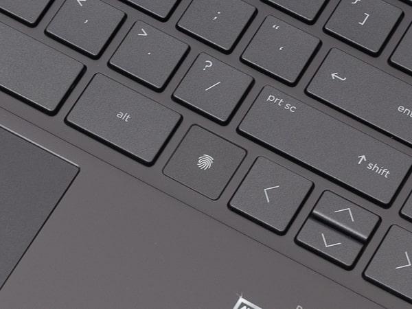 HP ENVY x360 13 指紋センサー