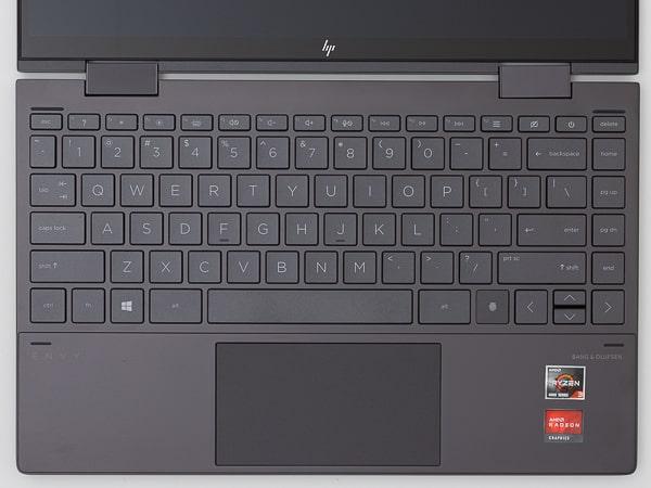 HP ENVY x360 13 キーボード