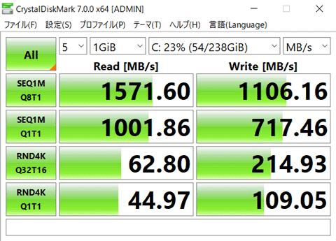 HP ENVY x360 13 ストレージ