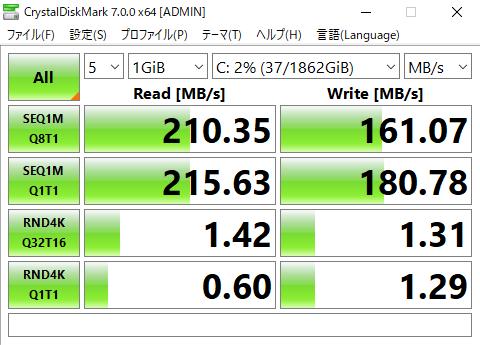 HP Desktop M01 ストレージ