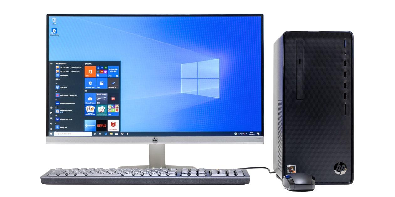 HP Desktop M01 レビュー