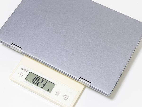 BMAX MaxBook Y11 重さ