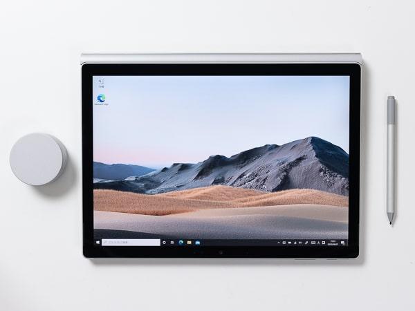 Surface Book 3 スタジオモード
