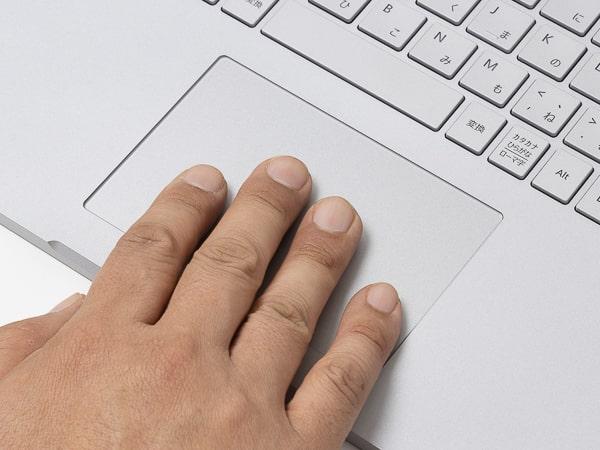 Surface Book 3 タッチパッド