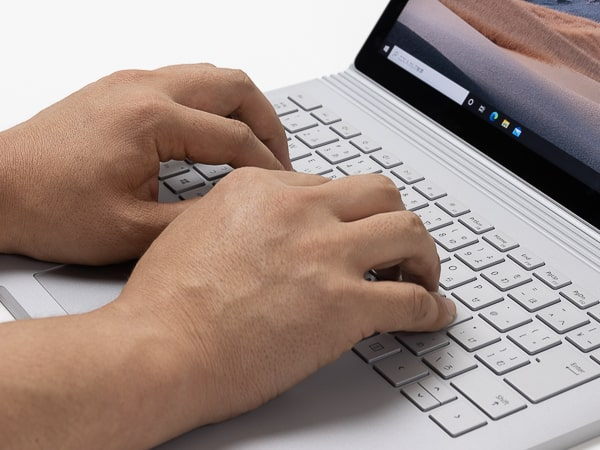 Surface Book 3 タイプ音
