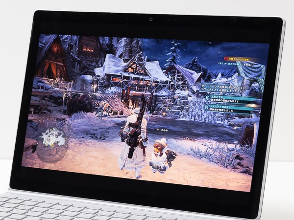 Surface Book 3 ゲーム