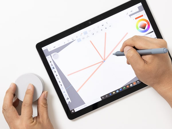 Surface Go 2 Surfaceダイヤル