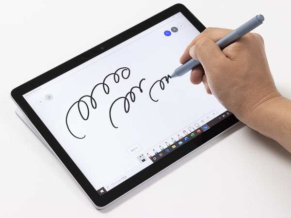 Surface Go 2 ペン入力
