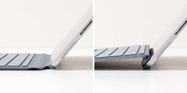 Surface Go 2 タイプカバー 角度