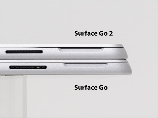 Surface Go 2 比較 厚さ