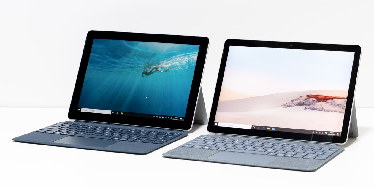 Surface Go 2とSurface Goの違い