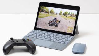 Surface Go 2でゲームを快適に楽しめるのか? ベンチマークやゲームプレーで検証!
