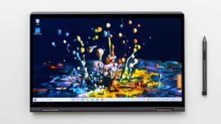 レノボ Yoga C740 (15)レビュー:大きな画面で動画や電子書籍を楽しめる15.6インチ2-in-1ノートPC