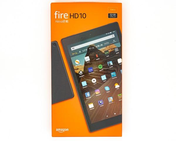 Fire HD 10 外箱