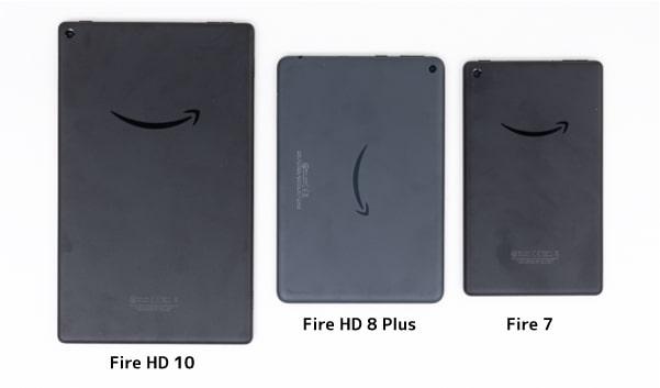Fire HD 10 比較