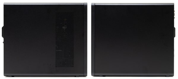 HP Slim Desktop S01 側面