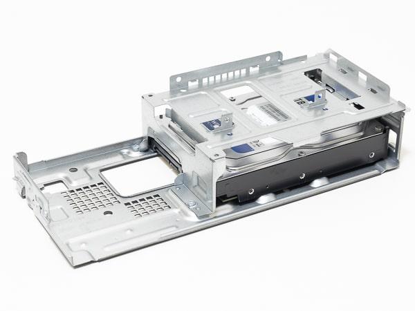 HP Slim Desktop S01 ドライブベイ