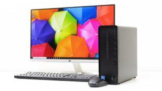 HP Slim Desktop S01 レビュー:税込3万円台からの激安スリム型デスクトップPC