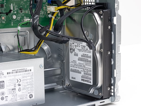 HP Pavilion Desktop TP01 ドライブベイ