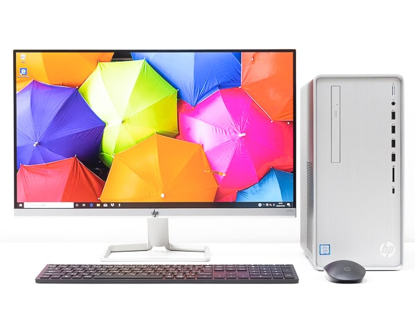 HP Pavilion Desktop TP01 設置イメージ