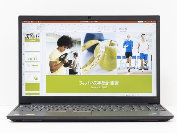 ThinkPad E15 Gen2 (AMD) 堅牢性