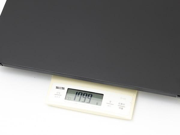 ThinkPad E15 Gen2 (AMD) 重さ