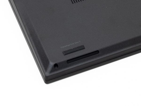 ThinkPad E15 Gen2 (AMD) スピーカー