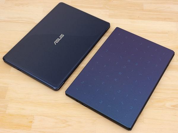 ASUS E210MA デザインの比較