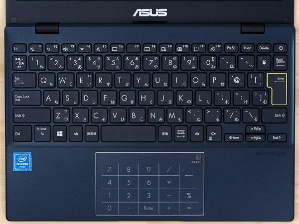 ASUS E210MA キーボード