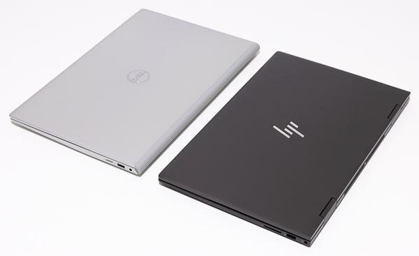 HP ENVY x360 15 サイズ比較