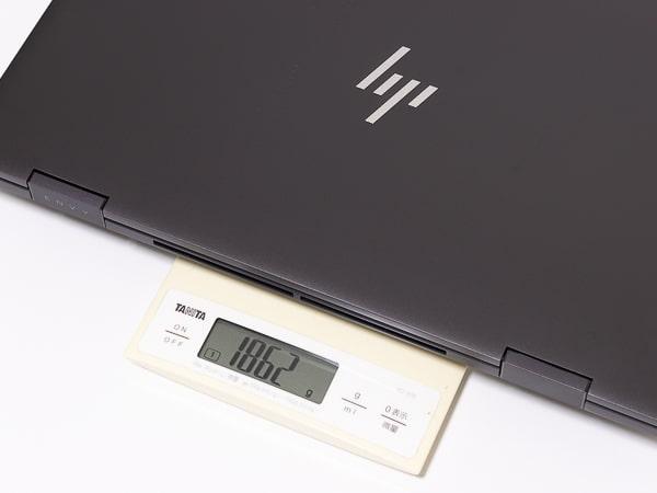 HP ENVY x360 15 重さ