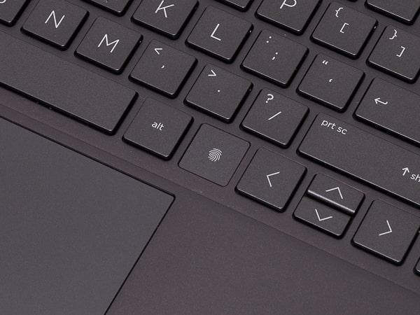 HP ENVY x360 15 指紋センサー