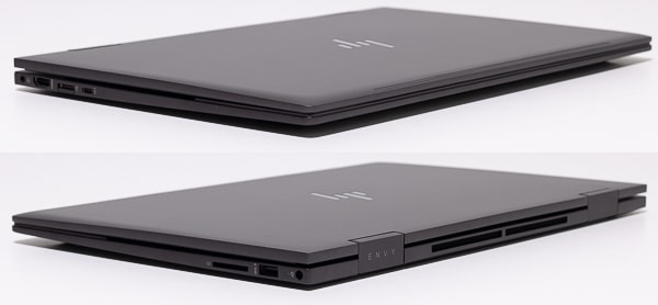 HP ENVY x360 15 シルエット