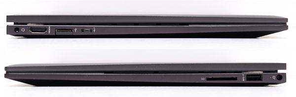 HP ENVY x360 15 インターフェース