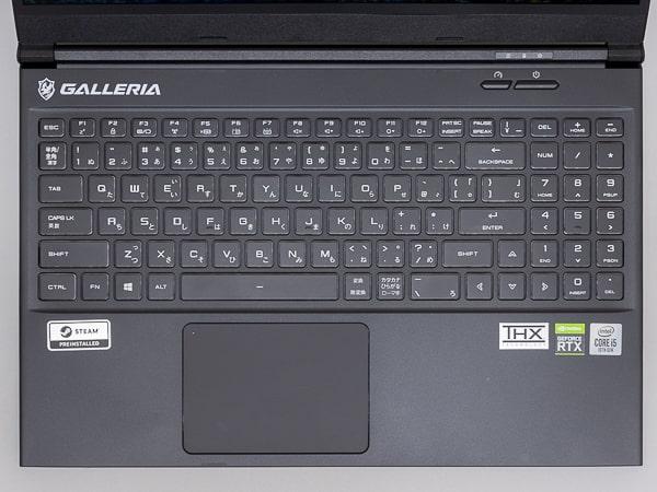 GALLERIA GCL2060RGF5 キーボード