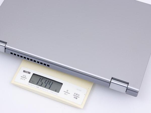 IdeaPad Flex 550 (14) 重さ