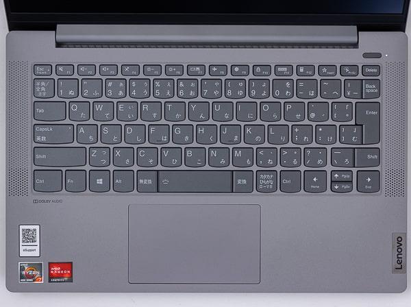 IdeaPad Slim 550 (14) キーボード
