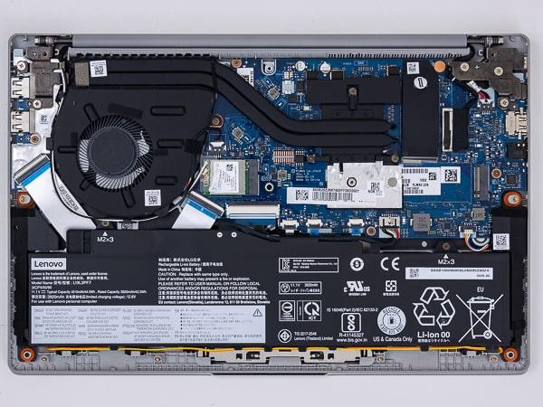 IdeaPad Slim 550 (14) 本体内部