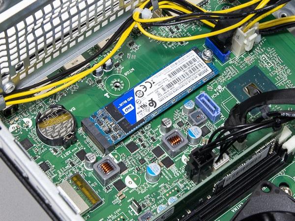 HP Pavilion Desktop TP01 SSD換装