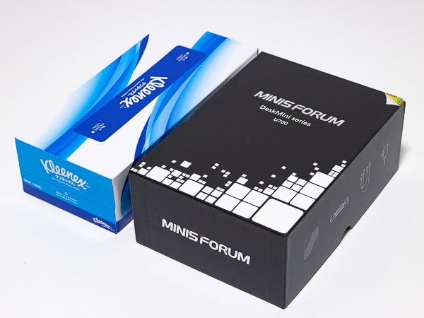 MINISFORUM U700 箱のサイズ