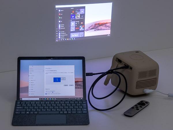 BenQ GS2 PC接続