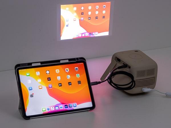BenQ GS2 iPad
