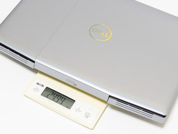 Dell G5 15 (5505) 重さ