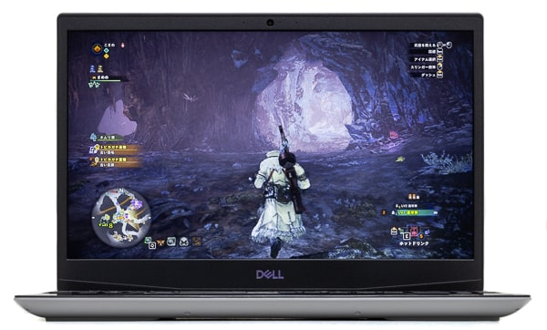 Dell G5 15 (5505) ゲーム画面