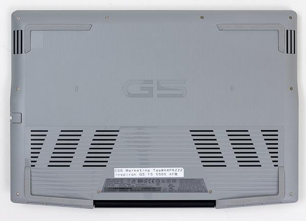 Dell G5 15 (5505) 底面