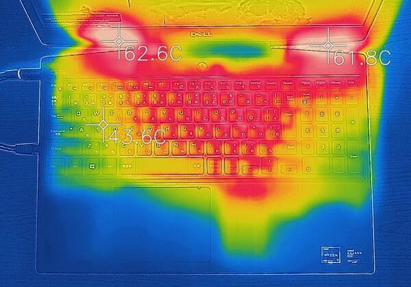 Dell G5 15 (5505) 熱