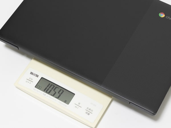 IdeaPad Slim 350i Chromebook 重さ