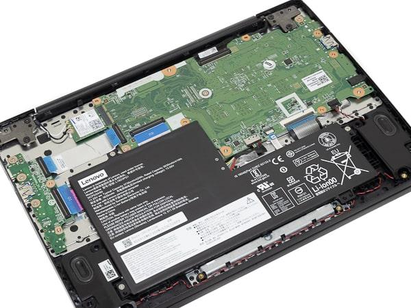 IdeaPad Slim 350i Chromebook 本体内部